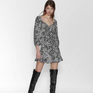 Zara PRINTED DRESS 7385/109